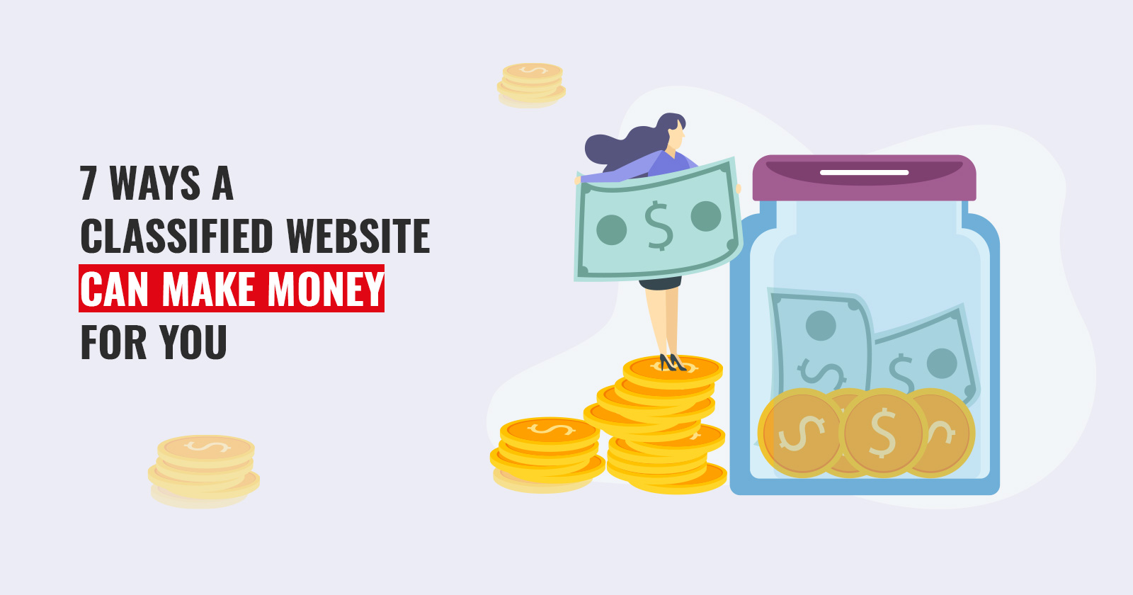 How to make money with classified website