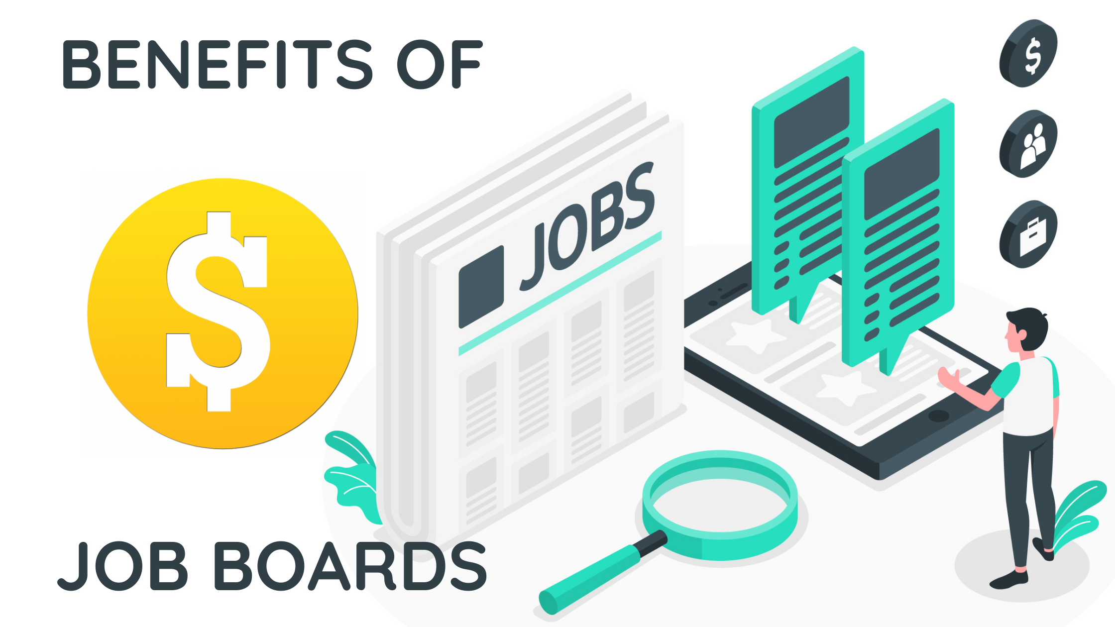 Benefits of job boards for recruiters and employees